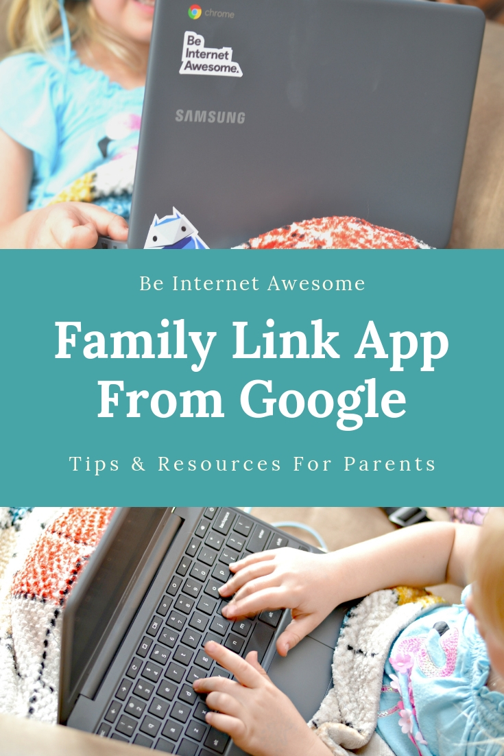 tips for keeping kids safer online, using family link from google, how to manage kids time online, be internet awesome, how to keep kids safer online, how to manage screen time, screen time tips for kids.