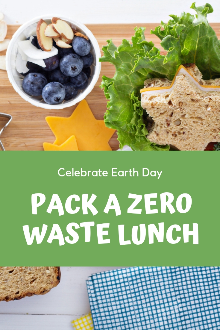 Celebrate Earth Day With A Zero Waste Lunch, pack a zero waste lunch, zero waste lunch, zero waste lunches, zero waste lunch ideas, how to pack a zero waste lunch, ideas for celebrating earth day, earth day celebrations, earth day activities