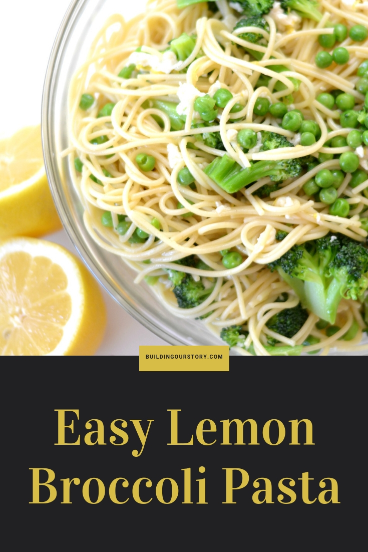Easy Lemon Broccoli Pasta, summer pasta recipes, lemon pasta recipe, pasta recipes for kids, pasta recipes with veggies, great summertime meals, summer meal planning, summer recipes, summer dinner recipes, pasta, lemon and broccoli pasta