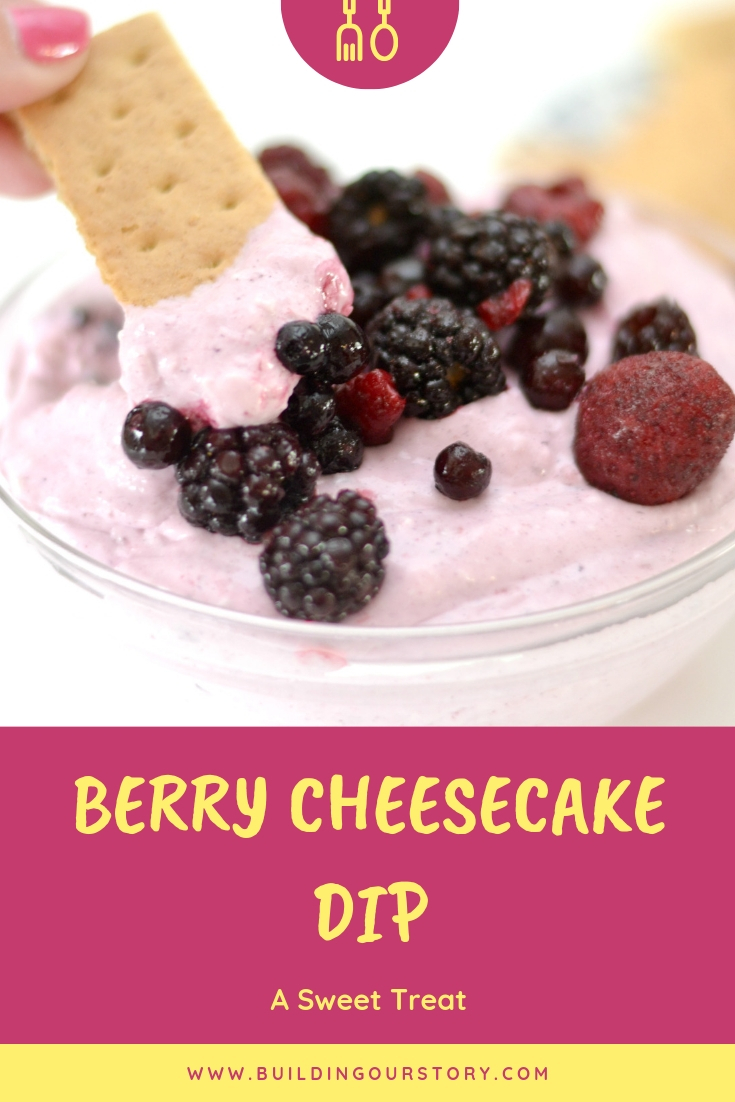 Berry Cheesecake Dip recipe, cheesecake dip recipe, berry cheesecake dip, how to make a cheesecake dip, summer desserts, desserts using coffee creamer, recipes using coffee creamer, Left Field Farms Coffee Creamer