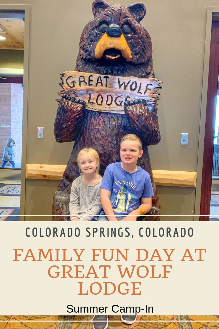 Great Wolf Lodge Summer Camp-In.  Tips for visiting Great Wolf Lodge, visiting great wolf lodge, day pass at Great Wolf lodge, why we love Great Wolf Lodge, Family fun day activities, travel, colorado, colorado springs