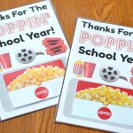 Thanks For The Poppin' School Year | End of the Year Teacher Gift