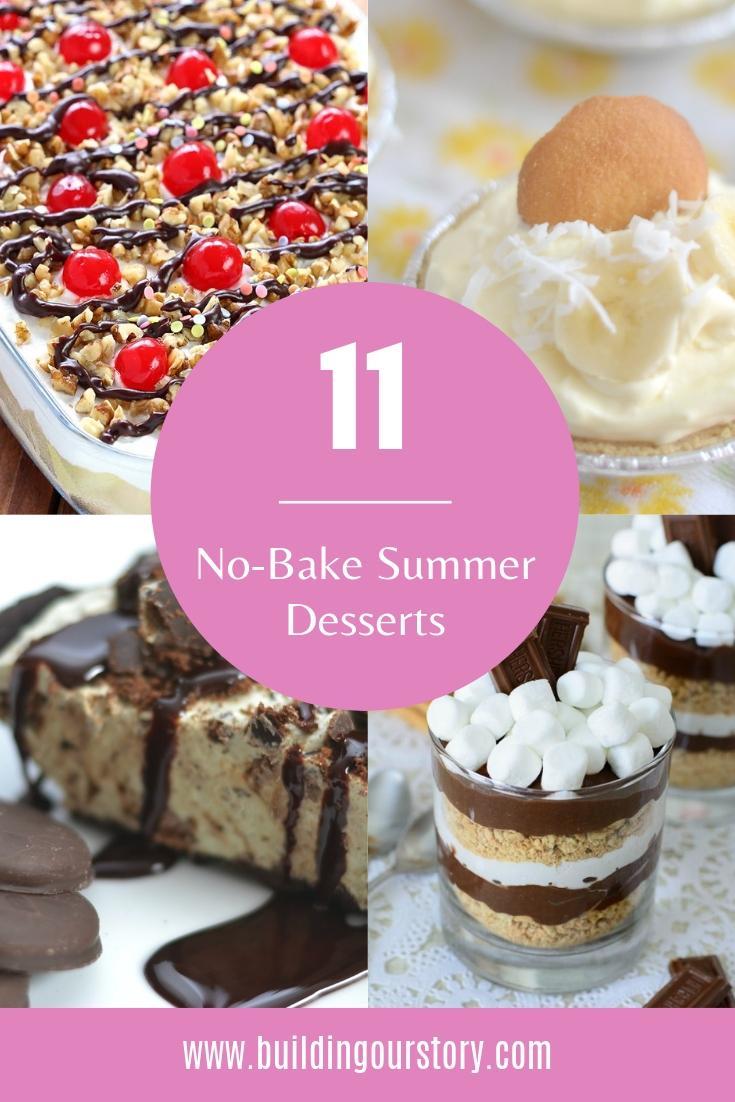 Easy No-Bake Summer Desserts, No-Bake Summer Desserts, no bake desserts, summer desserts, easy summer desserts, dessert recipes, no bake dessert recipes, no bake dessert for party