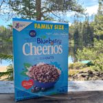 Perfect Summer Camping Snack - Blueberry Cheerios