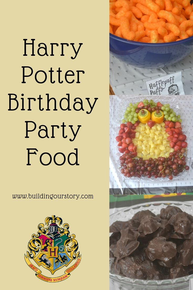 Harry Potter Birthday Party Food Ideas.