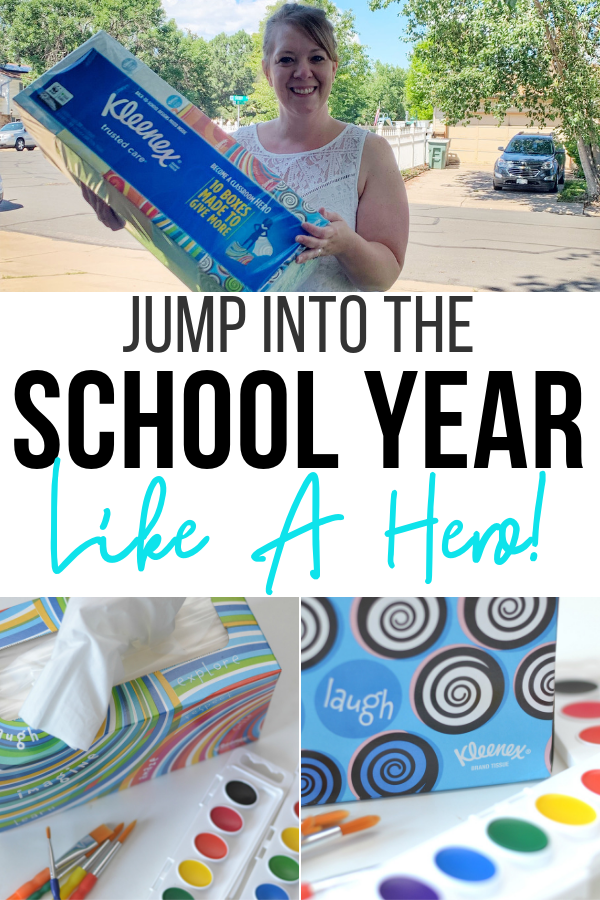 Jump Into The School Year Like a A Hero!