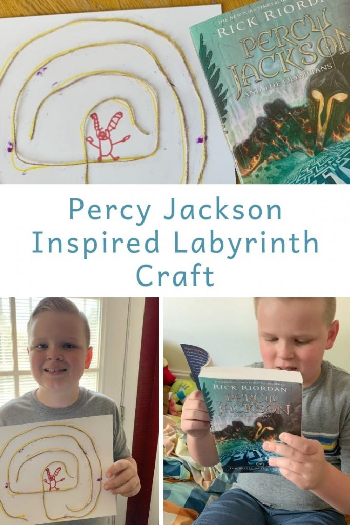 Percy Jackson Inspired Labyrinth Craft