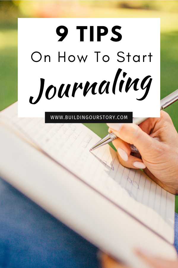 Tips on how to start journaling