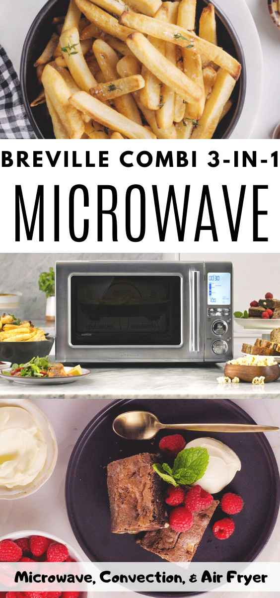 Breville Combi Wave 3-1. Ready to fall in love with a microwave that does the same thing as a traditional microwave, plus air fryer, and a convection oven?
