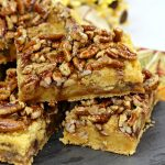 Browned Butter Pecan Toffee Bars
