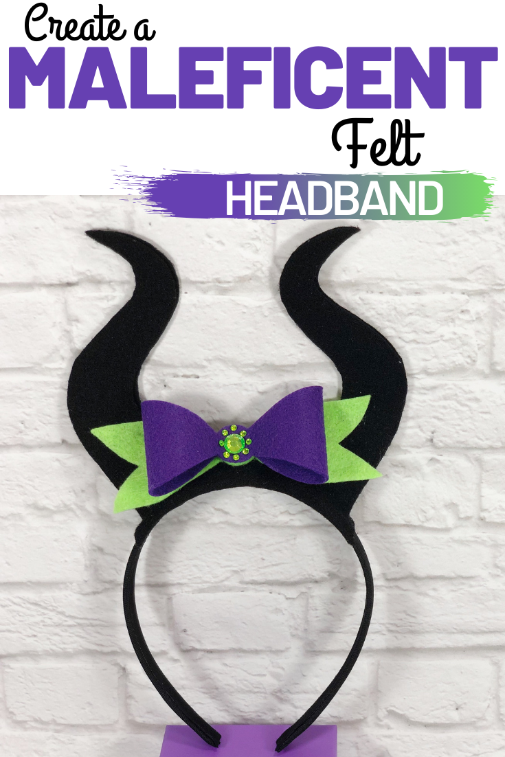 Create a DIY Maleficent Headband just in time to celebrate the release of Maleficent 2: Mistress of Evil and Halloween. Maleficent fans will love it!