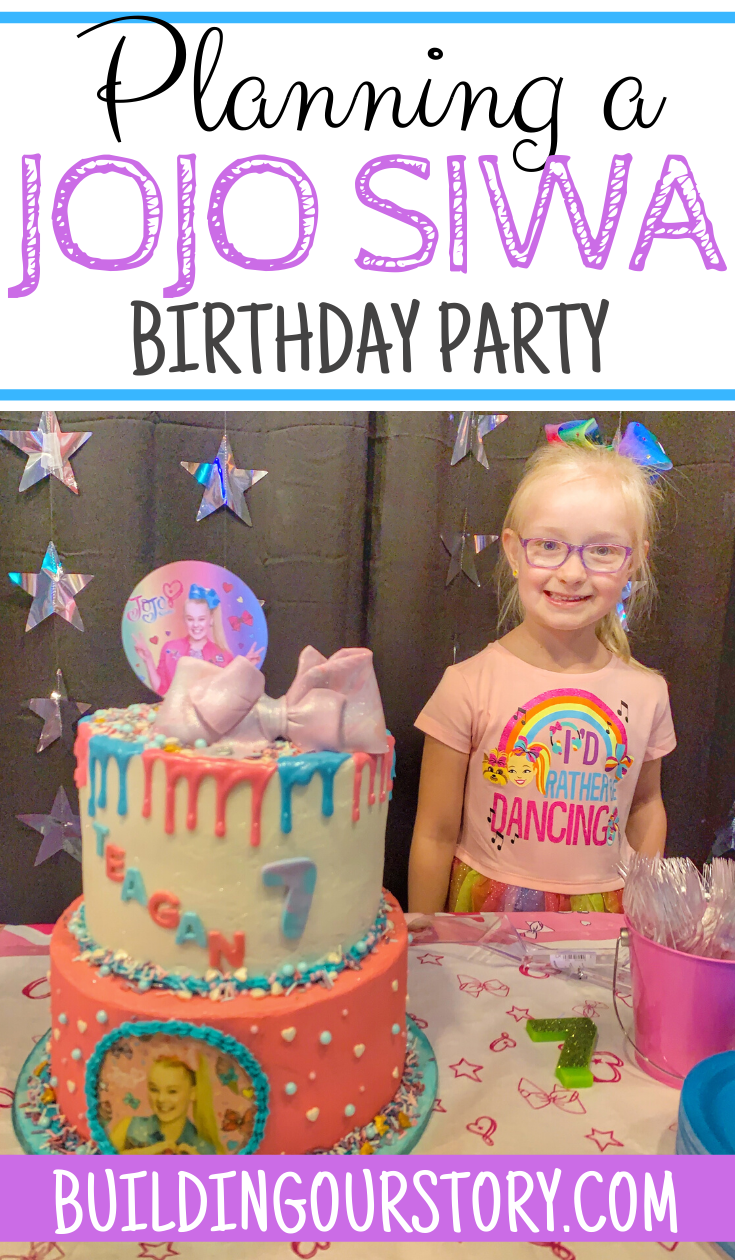 Planning a JoJo Siwa birthday party, planning a JoJo Siwa party, planning a JoJo birthday party, JoJo Party, JoJo birthday cake, JoJo Siwa cake, birthday party ideas, JoJo Siwa themed birthday party, birthday party for girls.