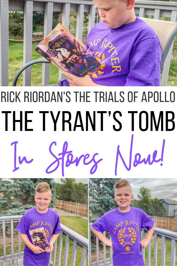 Rick Riordan's The Trials of Apollo #4: The Tyrant's Tomb In Stores Now!