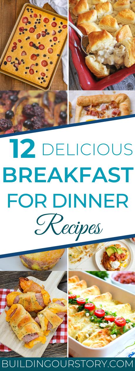 12 Breakfast For Dinner Ideas, breakfast for dinner, breakfast for dinner recipes, easy breakfast for dinner ideas