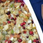 Cranberry Apple Stuffing - A Twist On Tradition