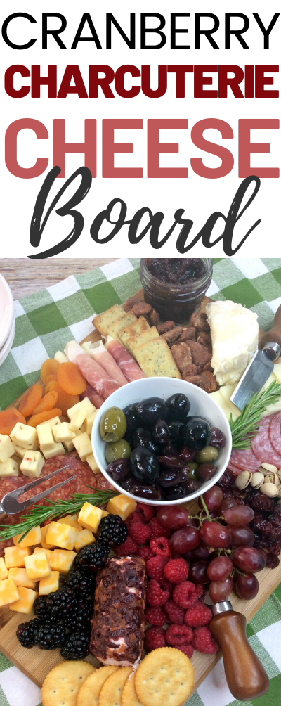 Build A Delicious Cranberry Charcuterie Cheese Board. A cheese board or charcuterie board are delicious ways to serve a crowd. Get creative and enjoy!