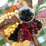 Build A Delicious Cranberry Charcuterie Cheese Board