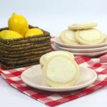 Iced Meyer Lemon Cookies