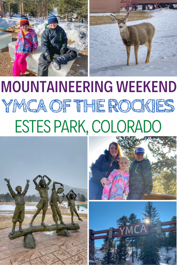 Experiencing Mountaineering Weekend At The YMCA of the Rockies, family vacations in Colorado, where to visit in Colorado, travel tips to Colorado, Estes Park Colorado, YMCA of the Rockies, Family Travel, Best places to visit in Colorado, winter vacations in Colorado, #travel #colorado #wintervacations #familytravel