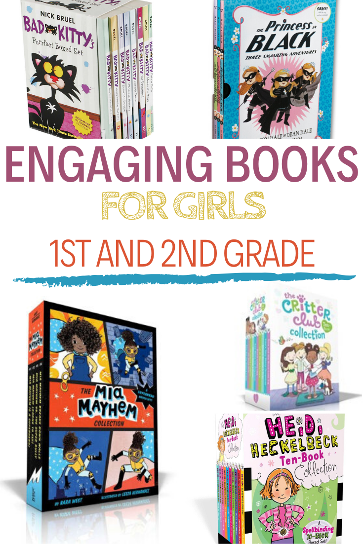 books for girls, books for girls in 1st grade, books for girls in 2nd grade, Great books for girls in 1st and 2nd grade to enjoy and get hooked on.  This is the age that it is important to spark that love of reading so make sure you add these great books to your child's must read list!
