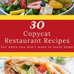30 Copycat Restaurant Recipes