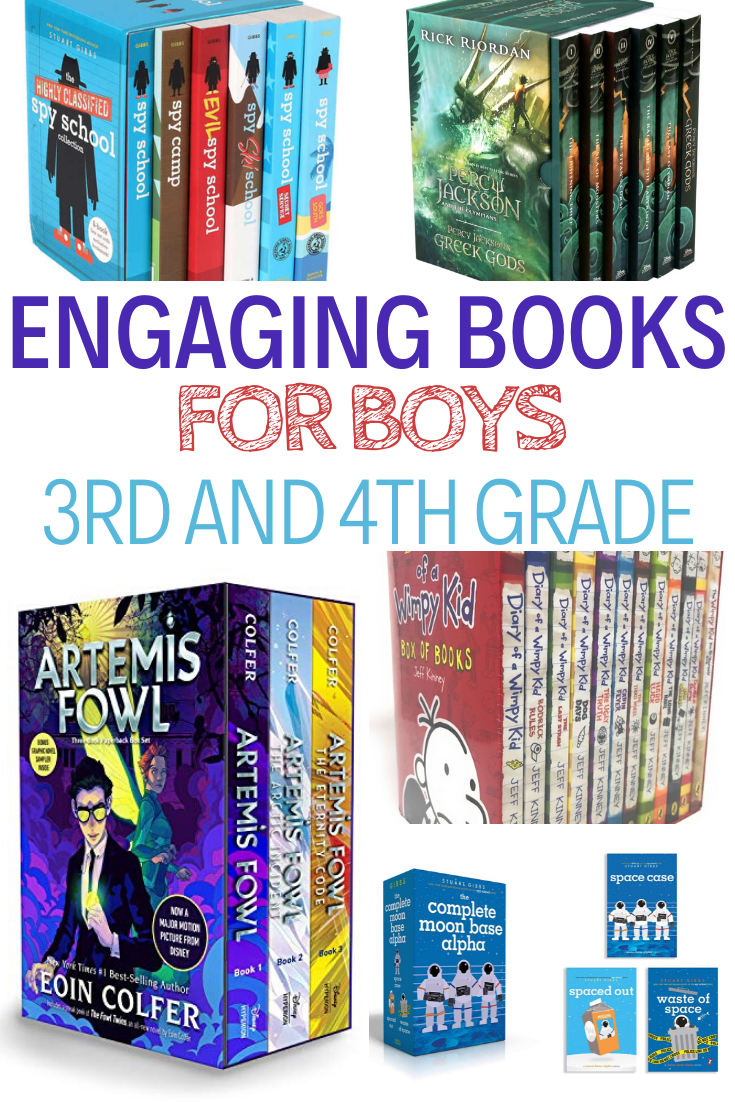books for boys, books for boys in 3rd grade, books for boys in 4th grade, Great books for boys in 3rd and 4th grade to enjoy and get hooked on. This is the age that it is important to spark that love of reading so make sure you add these great books to your child's must read list!