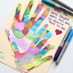 Lockdown Handprint Craft For Family Keepsake