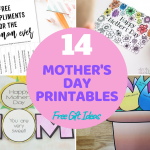 14 Mother's Day Printables