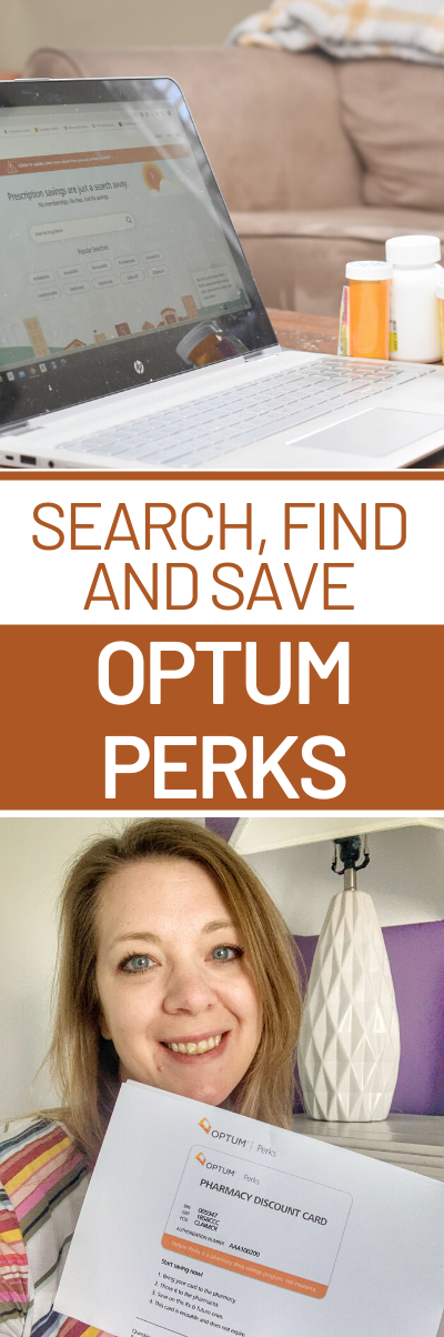 On a budget? Learn how to Search, Find, and Save with Optum Perks Prescription Coupons! @OptumPerks #OptumPerks #ad