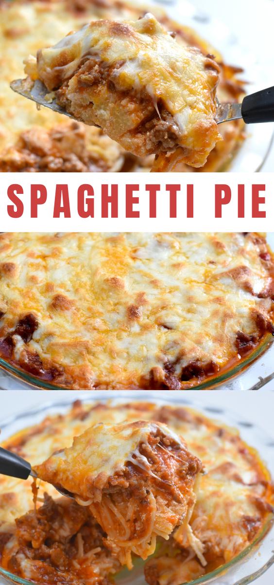 Spaghetti Pie, easy spaghetti pie recipe, spaghetti pie recipe, recipes with spaghetti, spaghetti night, pasta dishes, pasta casseroles, casserole recipes, dinner recipe, family recipes