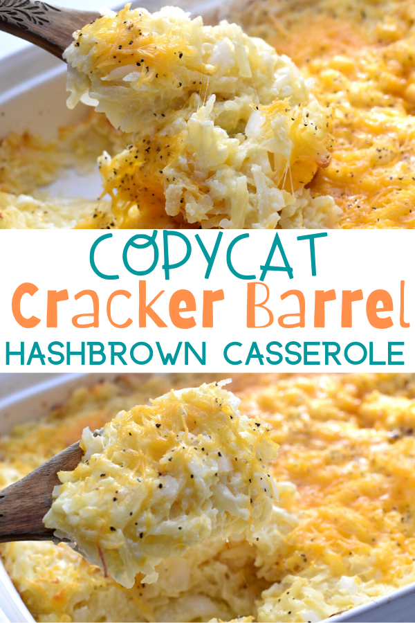 Copycat Cracker Barrel Hashbrown Casserole. Hashbrown casserole recipe, Cracker Barrel Hashbrown Casserole, how to make Cracker Barrel Hashbrown Casserole, Hashbrown casserole recipes, easy hashbrown casserole recipe, copycat recipes, brunch recipes, potluck recipes, breakfast dishes