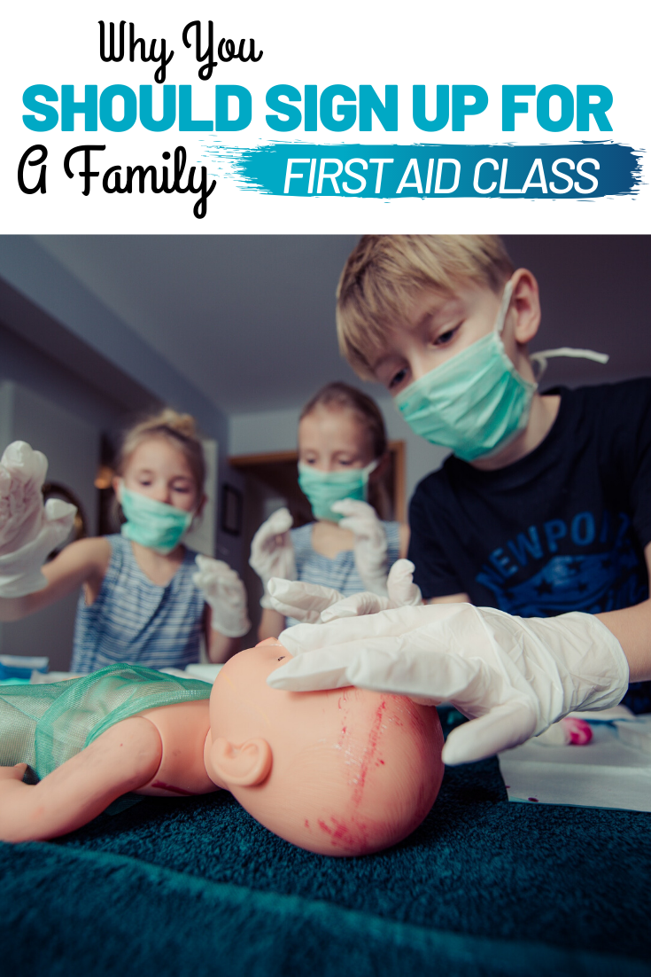 Why You Should Sign Up For A Family First Aid Class. Signing up for a family first aid class can help you prepare everyone in your home for the unexpected.
