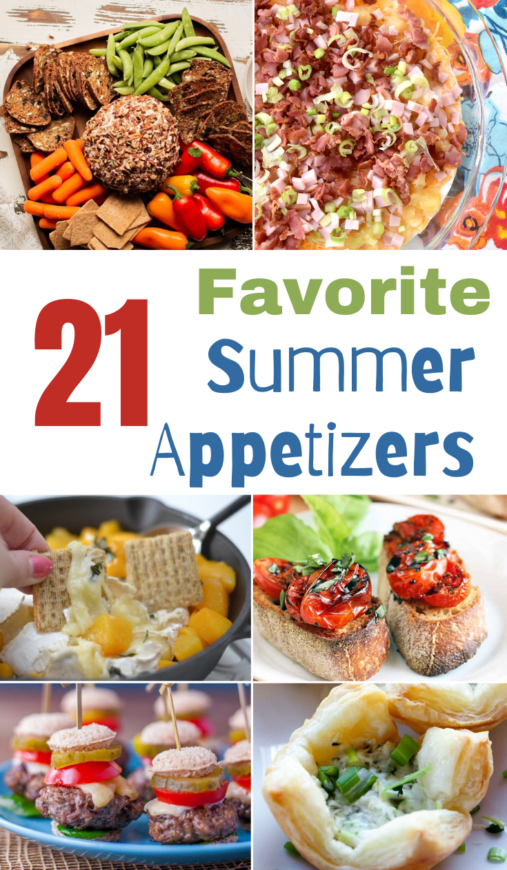 DELICIOUS SUMMER APPETIZER RECIPES, Favorite Summer Appetizers, Summer Appetizer recipes, Summer appetizers, Summer food, what to make for a picnic, Appetizer recipes, delicious appetizers