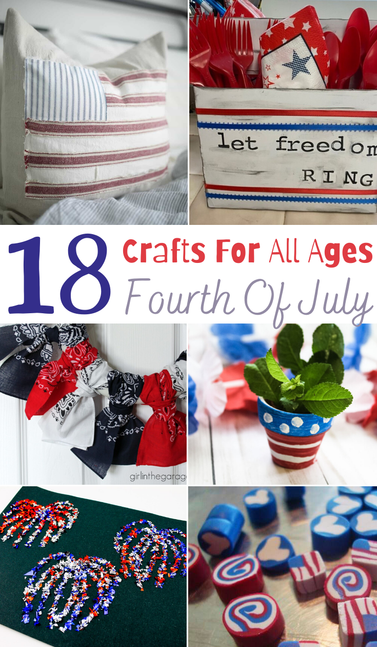 4th of July Crafts for All Ages, 4th of July crafts, 4th of July DIY Decor, 4th of July decorations, 4th of July crafts for kids, fourth of July crafts for kids, fourth of July activities, 4th of July activities