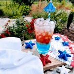 Red, White and Blue Patriotic Mocktail