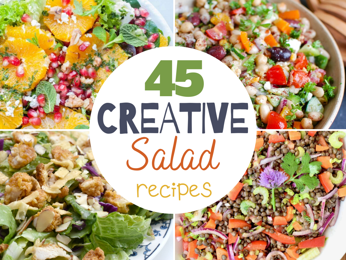 45 Creative Salad Recipes, creative salad recipes, fruit salads, salad recipes, easy salad recipes, fruit salad, creative salad recipe, pasta salads, fresh salads, delicious salad recipe, salads to try, best salads to make for dinner