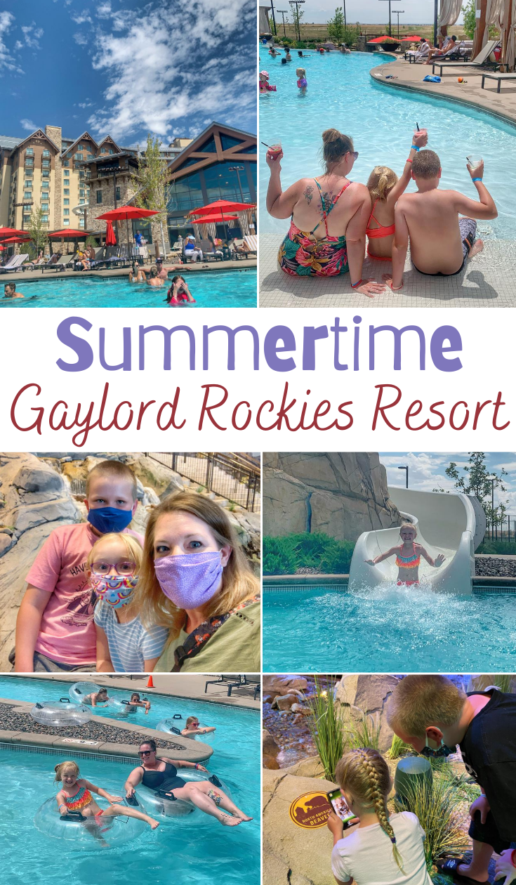 Summertime At Gaylord Rockies Resort, Tips for visiting Gaylord Rockies, summertime activities in Denver, where to visit in Colorado, Colorado road trips, family trips in Colorado, where to take kids in Colorado, Denver vacations, where to stay in Denver #GaylordRockies #hosted