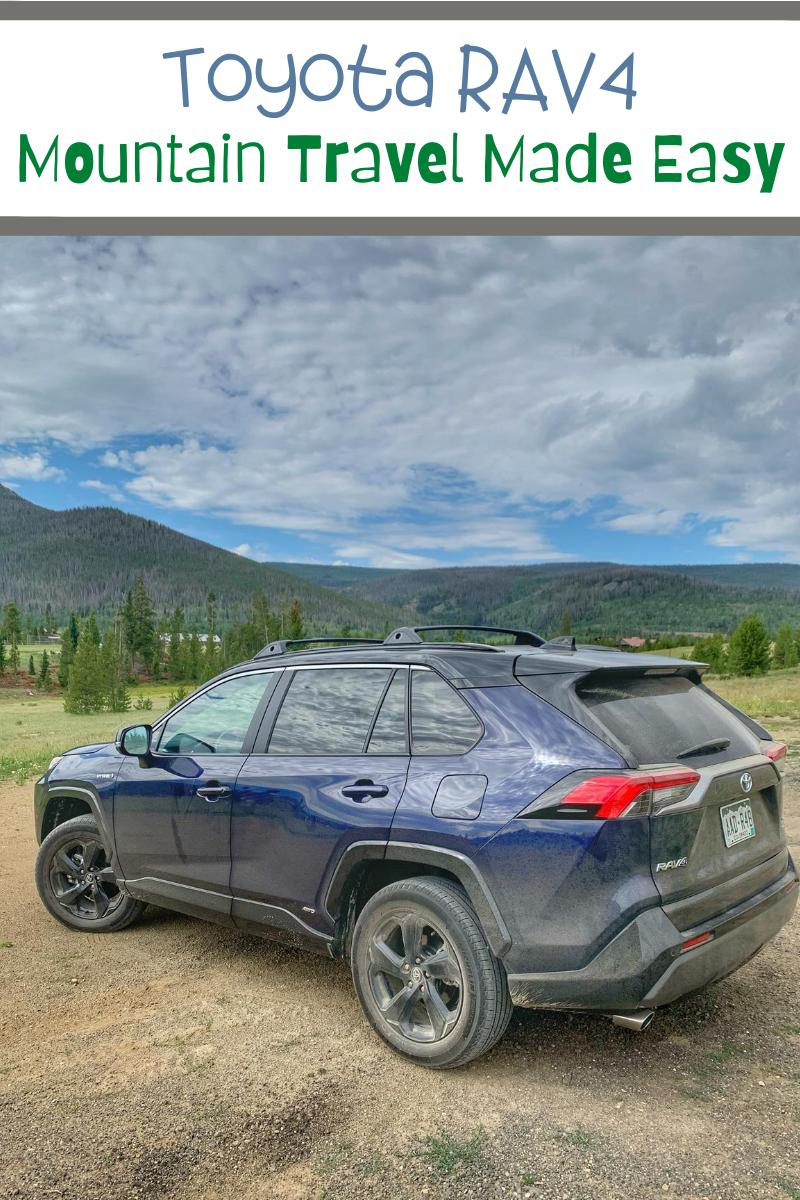 Toyota RAV4 - Mountain Travel Made Easy, Toyota Cars, Toyota reviews, cars for road trips, #ToyotaPartner #RAV4 #Hybrid