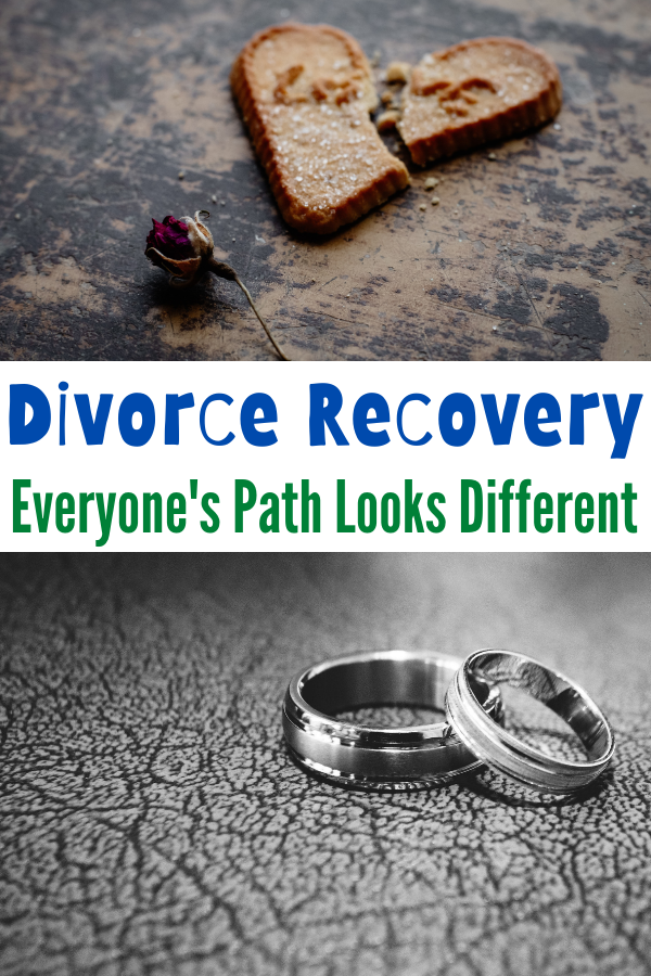 The path of divorce recovery looks different for everyone.There will always need to be some sort of healing in the process of divorce. Divorce Recovery - Everyone's Path Looks Different. Divorce Recovery Tips. Divorce tips. Divorce healing. healing from divorce.