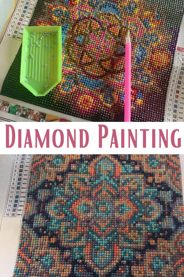 Diamond Painting. What is diamond painting. Diamond painting 101. How do you diamond paint. What to do with leftover diamonds from diamond painting. Diamond painting tips and tricks. Diamond Painting tricks.