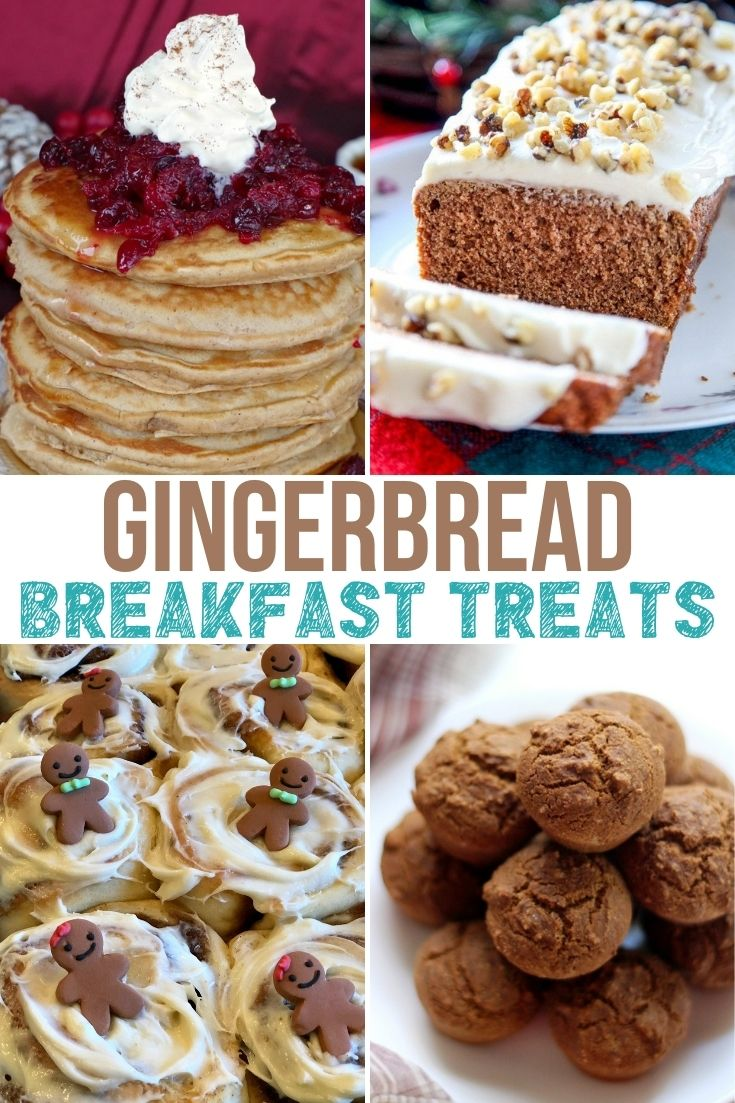Gingerbread breakfast treats. Christmas recipes for Breakfast. Gingerbread recipes. If you are looking for some tasty gingerbread breakfast treats, this collection of goodies is for you! Gingerbread Breakfast Treats to try.