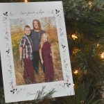 Love · Peace · Hope - Minted Holiday Cards