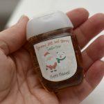 Hand Sanitizer Holiday Gift Printable