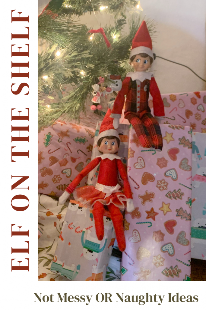 Elf on the shelf ideas that are not messy or naughty. Fun Elf on the shelf ideas. last minute elf on the shelf ideas, last minute elf on the shelf, elf on the shelf ideas for the busy mom, Elf On The Shelf - Easy Ideas For Busy Parents, easy elf on the shelf ideas, creative elf on the shelf ideas, favorite elf on the shelf ideas, ideas for two elves on the shelf, elf on the shelf - two elves