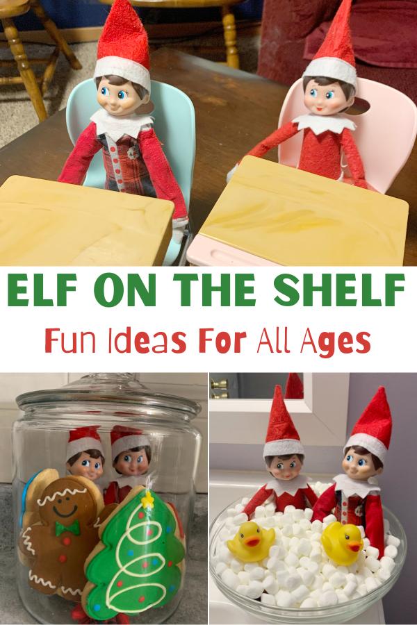 Fun Elf on the shelf ideas. last minute elf on the shelf ideas, last minute elf on the shelf, elf on the shelf ideas for the busy mom, Elf On The Shelf - Easy Ideas For Busy Parents, easy elf on the shelf ideas, creative elf on the shelf ideas, favorite elf on the shelf ideas, ideas for two elves on the shelf, elf on the shelf - two elves,