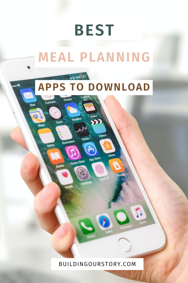 Best Meal Planning Apps.  Apps to help with meal planning.  How to meal plan?  Meal planning tips.  Tips for meal planning.