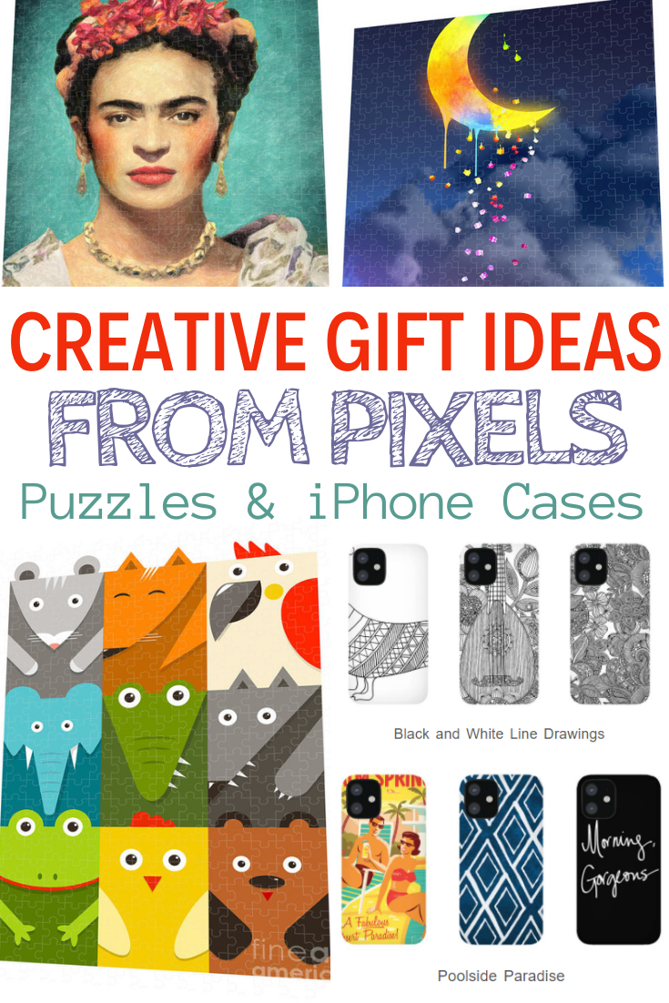 Creative Gift Ideas. Creative Gift Ideas - Pixels. Custom iphone cases. custom puzzles. great gift ideas. make your own puzzle.