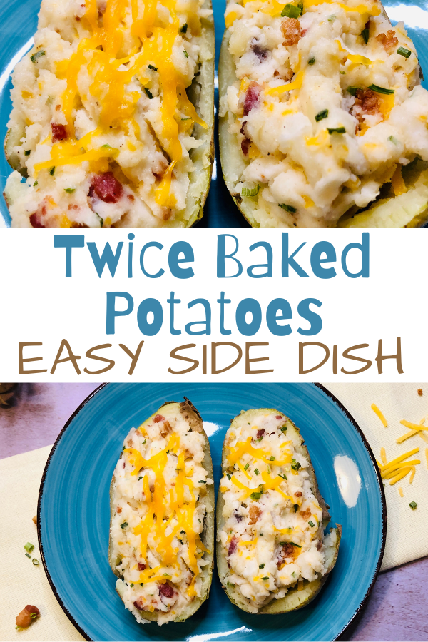 How To Make Twice Baked Potatoes. Twice Baked Potatoes. Twice Baked Potatoes recipes. Twice Baked Potatoes recipe. Potato side dish. easy potato side dish. yummy side dish. the best Twice Baked Potatoes recipe.
