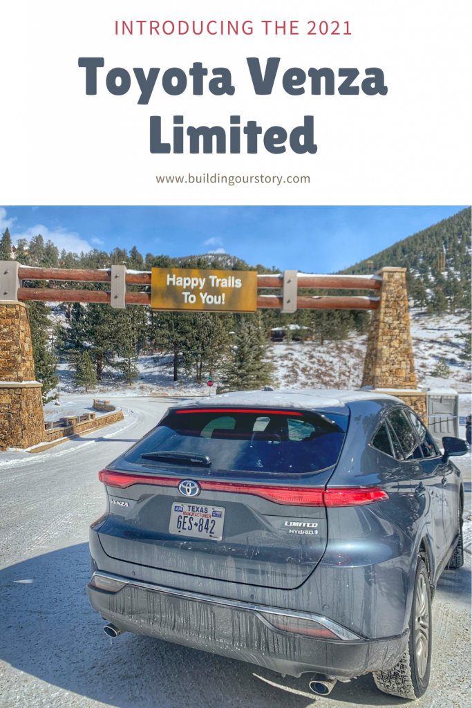 Introducing The 2021 Toyota Venza Limited. Toyota Venza. Venza Limited. Cars for family travel. #toyotapartner #ToyotaVenza