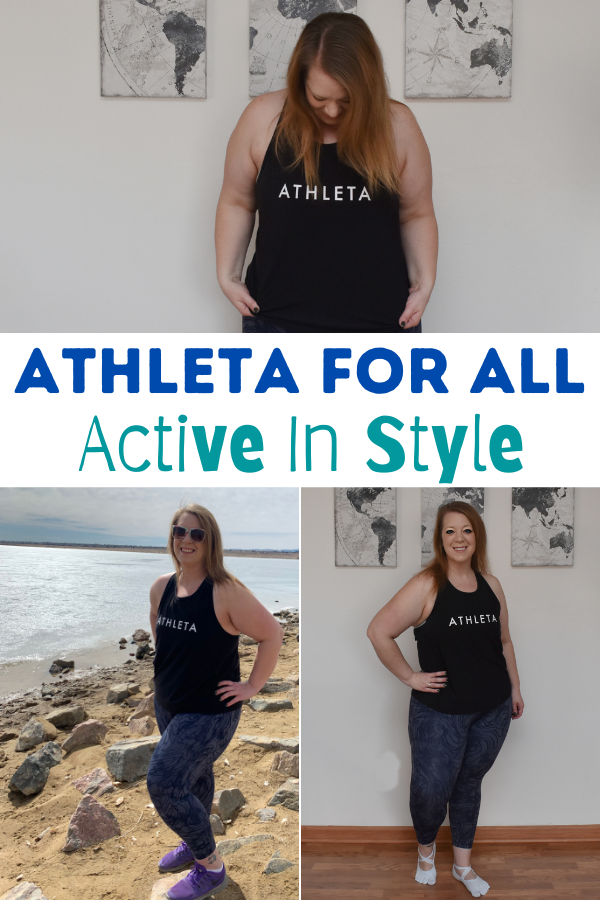 Athleta clothing for all sizes. Inclusive sizes for workout clothing. Athleta clothing. Active In Style: Athleta For All! Stylish active wear #AthletaForAll #ad